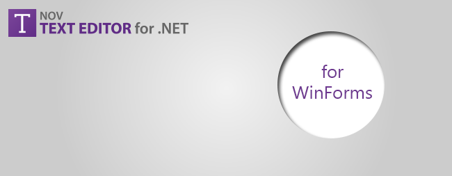 Rich Text Editor for WinForms - Visual Studio Marketplace